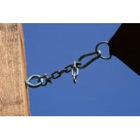 Στηριξη διχτυου σκίασης σε κολόνα